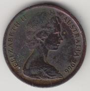 @Y@    Australië   1 Cent  1966    (4449) - Australië