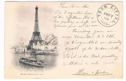FR-3395   PARIS : La Tour Eiffel - Eiffeltoren