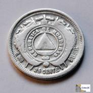 Honduras - 25 Centavos - 1896 - Honduras