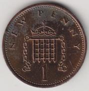 @Y@   Groot Brittanië    1  New Penny  1971    (4467) - 1902-1971 :  Post-Victoriaanse Muntstukken
