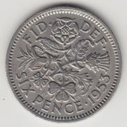 @Y@   Groot Brittanië    6 Pence  1953     (4468) - 1902-1971 :  Post-Victoriaanse Muntstukken