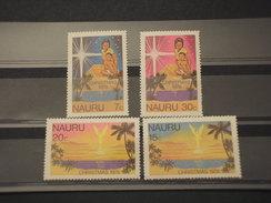 NAURU - 1978 NATALE  4 VALORI - NUOVI(++) - Nauru