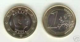 Monaco 2007 : Pièce 1 Euro à L´effigie D´Albert II - Monaco
