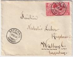 UPU 10 C. Platte 3, SBK Fr. 130.- , #7109 - 1882-1906 Wappen, Stehende Helvetia & UPU