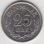 @Y@    Denemarken   25 Ore   1961     (4474) - Denemarken
