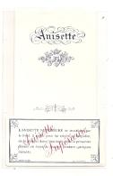 étiquette   -1900/1930 -très Vieille étiquette Générique - Anisette TTB - Otros