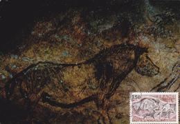 Carte Maximum FRANCE N° Yvert  2043 (NIAUX) Obl Sp Ill 1er Jour (Ed Iris 6) - Maximumkaarten