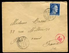 Allemagne - Cover / Enveloppe De Hanovre Pour La France En 1944, Contrôle Postal Réf J 100 - Briefe U. Dokumente