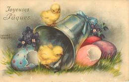 Illustrateurs - Illustrateur Hannes Petersen - Poussins - Joyeuses Pâques - état - Petersen, Hannes