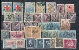 GRIECHENLAND GREECE Old Charity Stamp Lot O - Wohlfahrtsmarken