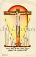 Communieprentje / Communie / Communion / Confirmation / 2 Scans / 1947 / Jean Gravet / Namur / Termes - Communion