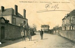 LA BAZOCHE GOUET - Ecoles Communales Hôpital N° 19 Route D'Authon Ecrit à Soldat 13 ème Régiment Vincennes - Autres Communes