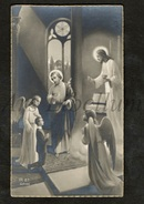 Communieprentje / Communie / Communion / Confirmation / 2 Scans / 1934 / Constant En Henri Van De Perck / Brasschaat - Communie