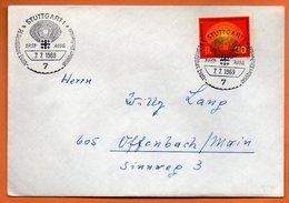ALLEMAGNE     STUTTGART 1969 Lettre Entière N° DD 311 - [7] Federal Republic