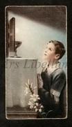 Communieprentje / Communie / Communion / 2 Scans / 1935 / Jean Muller / Lokeren - Communie