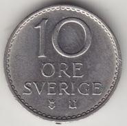 @Y@    Zweden   10  Ore  1967      (4483) - Zweden