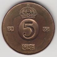 @Y@    Zweden   5  Ore  1965       (4486) - Zweden