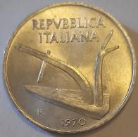 1970 - Italia 10 Lire^ - 1946-… : République