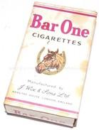 Paquet De 10 Cigarettes Plein Bar One GB WW2 Anglais - 1939-45