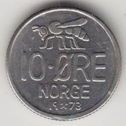 @Y@   Noorwegen  10 Ore  1973      (4490) - Noorwegen