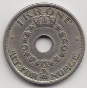 @Y@   Noorwegen  1  Krone  1925       (4491) - Noorwegen