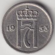 @Y@   Noorwegen  10 Ore  1953        (4495) - Noorwegen