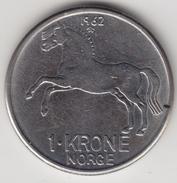 @Y@   Noorwegen  1  Krone  1962        (4496) - Noorwegen