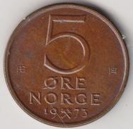 @Y@   Noorwegen  5  Ore  1973        (4498) - Noorwegen