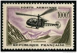 France PA (1957) N 37 * (charniere) - Poste Aérienne