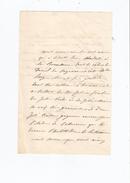 CAYOT JOSEPHINE CELINE (1812 . DECES ?) ACTRICE DU GRAND OPERA . CANTATRICE LETTRE A SIGNATURE - Autografi