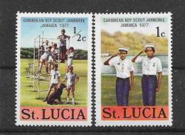 ST.Lucia 1977 Y&T Nr° 418,489 (**) - St.Lucie (1979-...)