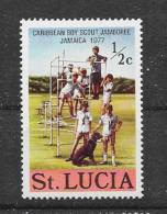 ST.Lucia 1977 Y&T Nr° 418(**) - St.Lucie (1979-...)