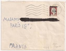 EA Typographié Sur DECARIS. SETIF R.P. Algérie Sur Enveloppe. 16/7/1962. - Algérie (1962-...)