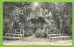 DUFFEF  / Klooster Der Zusters Norbertinen - Grot / / Couvent Des Religieuses Norbertines Grotte (1908) (bl L) - Duffel