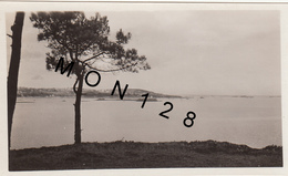 PORS EVEN (22 Cotes D'armor) VUE PRISE DE LA FALAISE DU BOIS GUILBEN PAIMPOL - PHOTO ORIGINALE 1932 - 10X7 Cms - Plaatsen