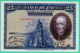 25 Pesetas - Espagne - 1928 - N° E2656373 - Sup - - [ 1] …-1931 : Premiers Billets (Banco De España)