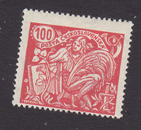 Czechoslovakia, Scott #92, Mint Hinged, Agriculture And Science, Issued 1923 - Czechoslovakia