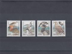 Allemagne Fédérale - Oiseaux, Neuf**, Année 1991. N° Y.T. 1367/1370 - Nuovi