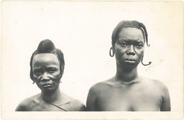 Cpa A.O.F. Guinée Française – Femmes Manou - Guinée Française