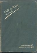 GELLI & TANI, Catalogue Spécial BELGIQUE Et CONGO BELGE Bruxelles, 296 Pages, Jacquette D'origine, état TB  MX28 - Guides & Manuels