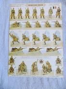 PRO PATRIA - SOLDATS à DECOUPER, INFANTERIE BELGE, ARMEE BELGE  N°34  SOLDATS IMPRIMES RECTO-VERSO HD.H.BOUQUET - 1914-18