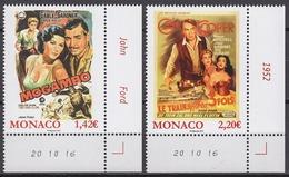 MONACO 2017  SERIE - LES FILMS DE GRACE KELLY  - NEUFS ** - Monaco