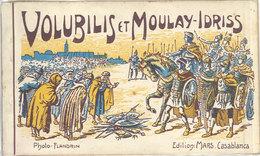 Maroc – Carnet 20 CPa Volubilis Et Moulay-Idriss – Photo Flandrin, édition Mars - Maroc