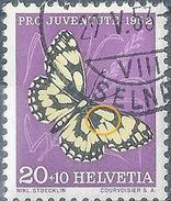 Damenbrett J145, 10 Rp.mehrfarbig  (Abart)              1952 - Pro Juventute