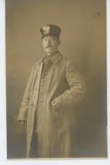 GUERRE 1914-18 - POLOGNE - - POLAND - DANZIG - GDANSK  - Belle Carte Photo Portrait Militaire Prise à DANZIG En 1915 - Guerre 1914-18