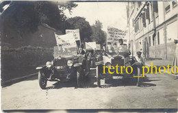 Cpa Egypte ? Carte-photo, Manifestation Pour L'indépendance En 1922, Le Caire ? - Egypte