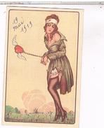 ART DECO ILLUSTRATEUR FEMME 1919 - Illustratori & Fotografie