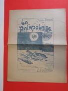 Musique Et Partitions > La Paimpolaise Par Théodore Botrel Musique E. Feautrier, Aux Pêcheurs D'Islande - En état 1895 - Folk Music