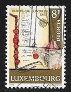 N° 1002  EUROPA  LUXEMBOURG   -  OBLITERE  -  1982