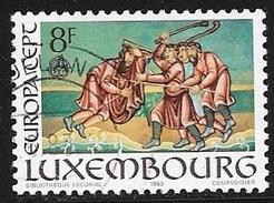N° 1024  EUROPA  LUXEMBOURG   -  OBLITERE  -  1983